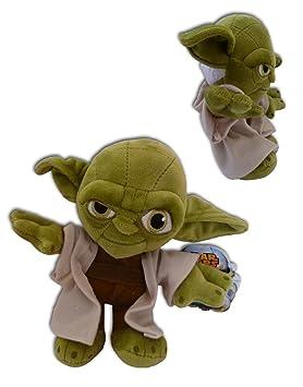 Yoda Jedi Master 27cm Muñeco Peluche Pelicula Star Wars Suave Nuevo Alta Calidad Serie Lucas films