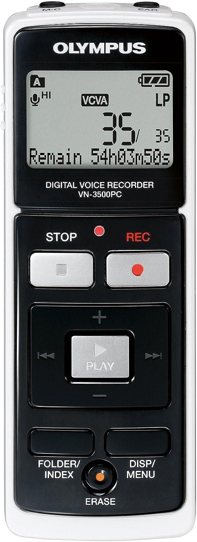 Olympus Vn 3500pc Digitaler Notetaker Diktiergerät Mit Pc Anbindung Bürobedarf Schreibwaren