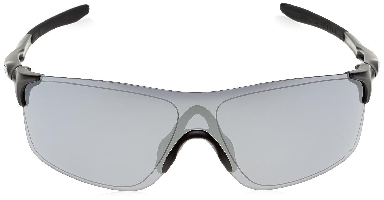 eaaf12ef36ba ... coupon amazon oakley mens evzero pitch non polarized iridium  rectangular sunglasses matte black 38 mm clothing