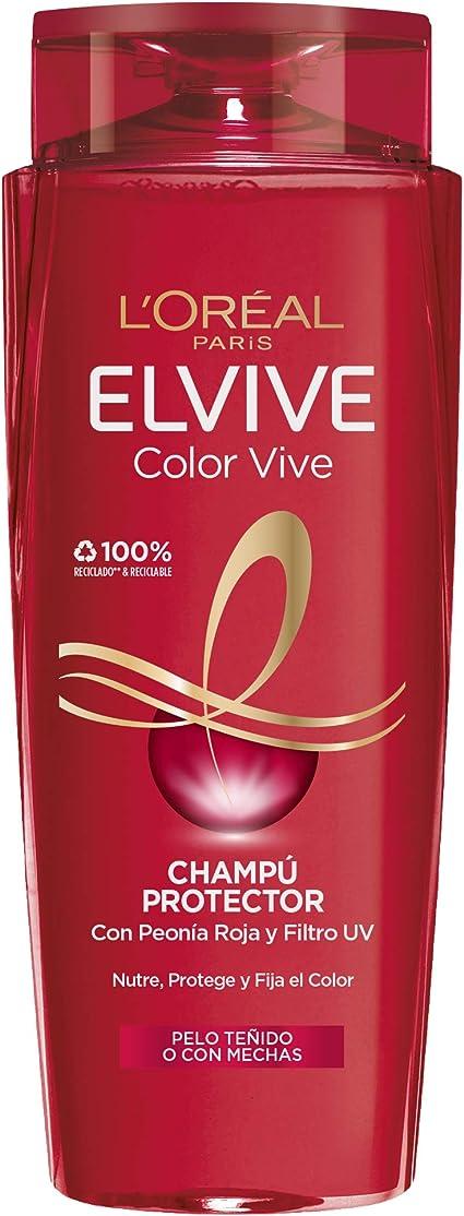LOreal Paris Champú Color-Vive - 700 ml