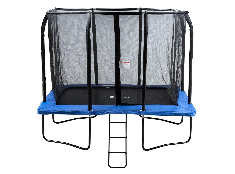 Exacme 7 x 10 cm rectangular trampolín 4U piernas w/Seguridad Pad ...