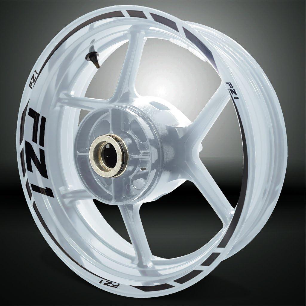 2 Tone Amethyst Motorcycle Rim Wheel Decal Accessory Sticker for Yamaha FZ1