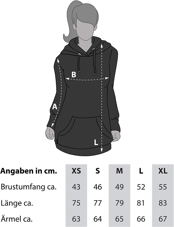shirtdepartment - Damen Ski-Urlaubs Kollektion - Pisten Skihuahua - T-Shirts & Long Hoodie - Das Outfit für die Piste und die anstehenden Après-Ski-Partys Schwarz-damen-rund