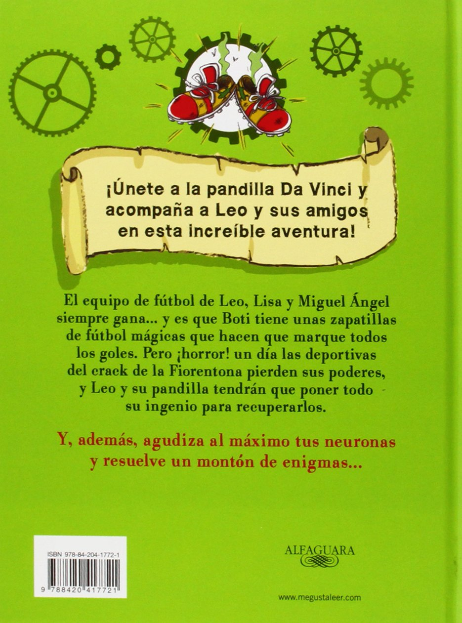 Amazon.com: Las deportivas mágicas / The Magic Shoes (El pequeño Leo da Vinci) (Spanish Edition) (9788420417721): Christian Galvez: Books
