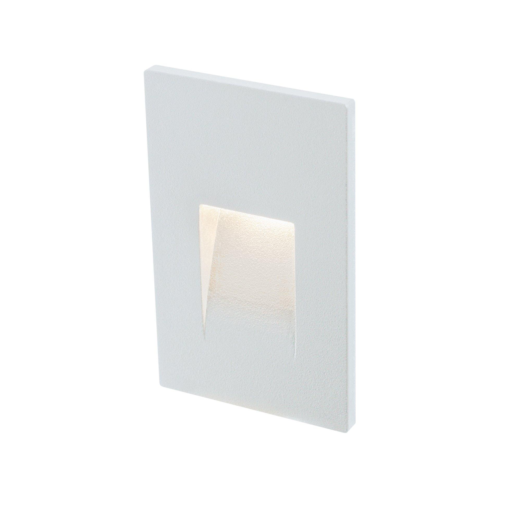 DALS Lighting LEDSTEP002D-WH 3'' Recessed Vertical Indoor/Outdoor LED Step Light White