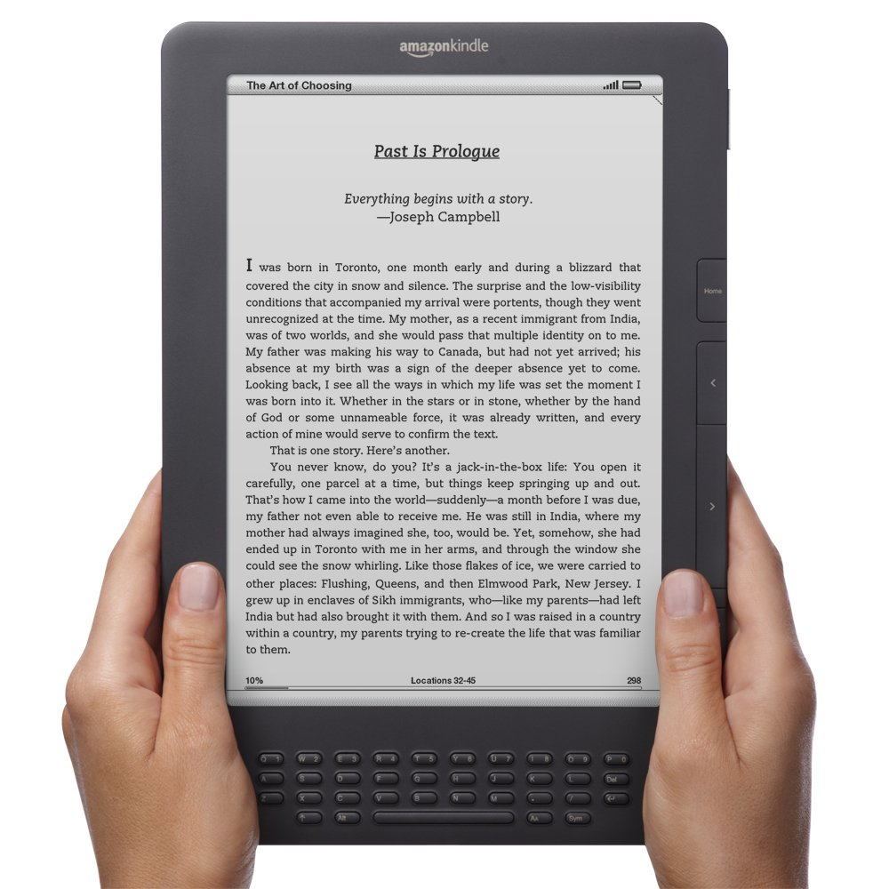 "Amazon.com: Kindle DX, Free 3G, 9.7"" E Ink Display, 3G Works Globally:  Kindle Store"