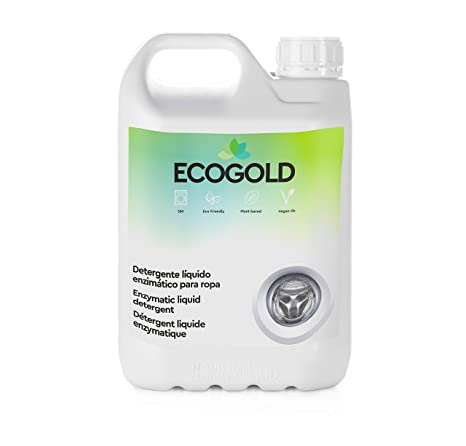 Ecogold Detergente ecológico para Lavadora 5L - Unidad de ...