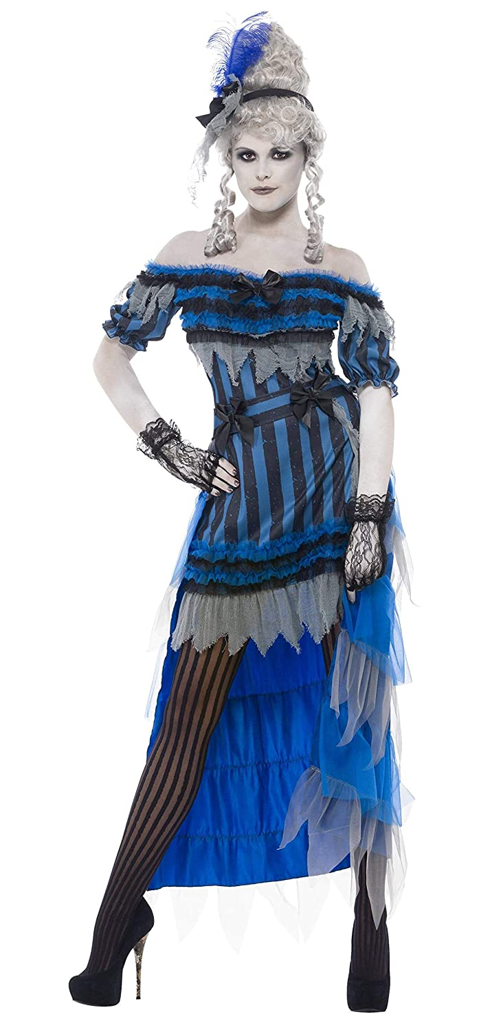 Make an Easy Victorian Costume Dress with a Skirt and Blouse Smiffys Womens Ghostly Saloon Girl Costume $44.22 AT vintagedancer.com