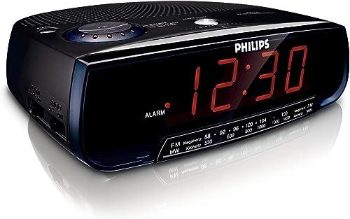 Philips AJ 3120 Clock radio Black
