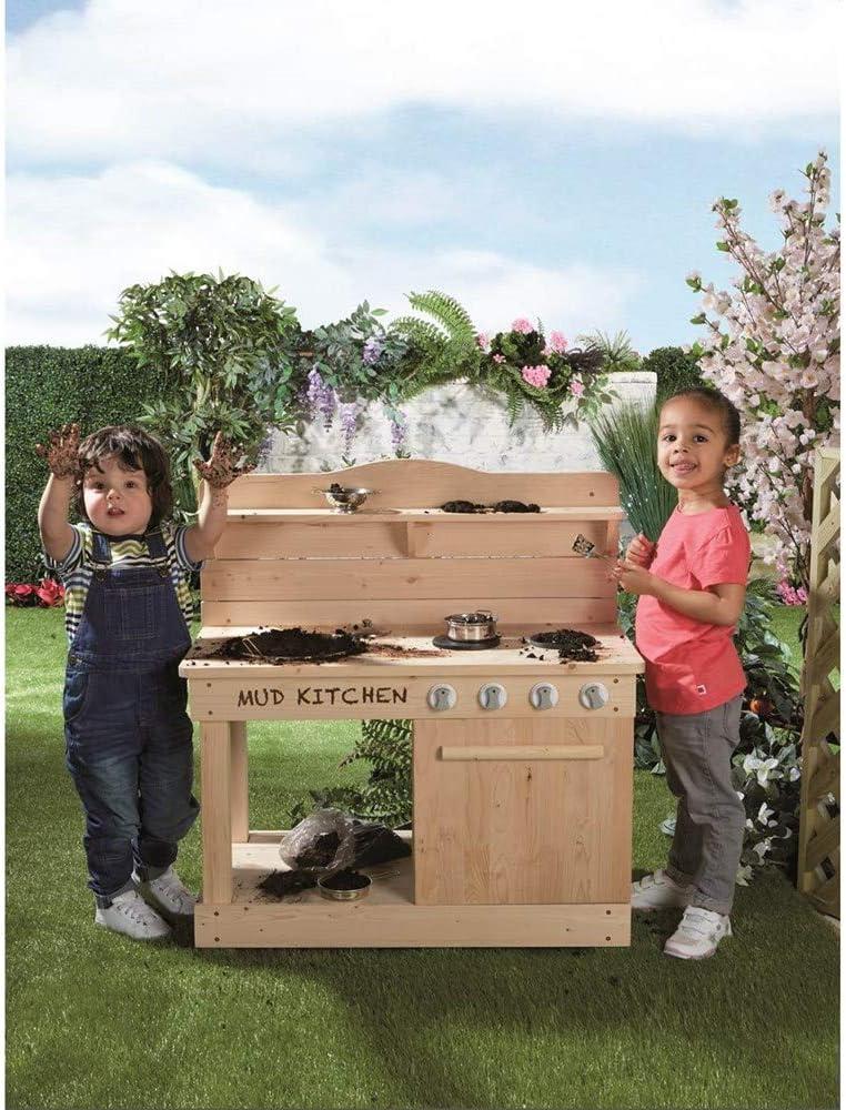 Jupiter Workshops Outdoor Wooden Mud Kitchen