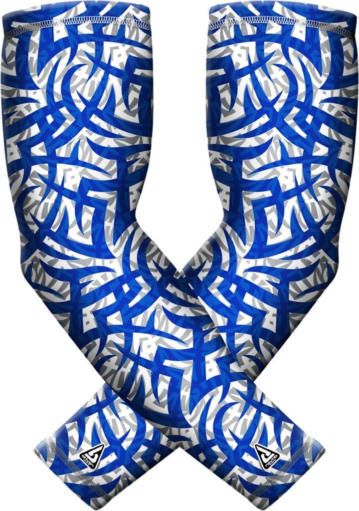 B-Driven Sports 高性能アスレチックアームスリーブ UV保護 若者 男女兼用 アスリートに最適 プレミアム圧縮 最もクールな色とデザインから選択 スリーブ2枚 B071WT96NK Adult S/M