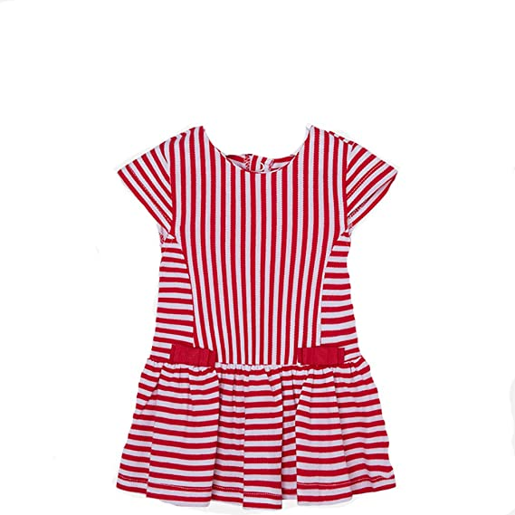 8982394ecf65 Mayoral Baby Girls  Dress Red Red - Red - 4-6 Months  Amazon.co.uk ...