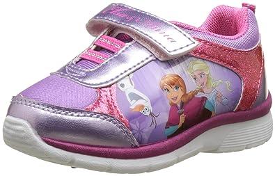 580352756df Disney Frozen Girls' Girls Kids Athletic Sport Low Multi-Coloured Size:  10.5UK