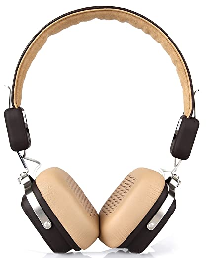 1cf2f508d04 BoAt Rockerz 600 Bluetooth Headphones (Brown)  Buy BoAt Rockerz 600  Bluetooth Headphones (Brown) Online at Low Price in India - Amazon.in