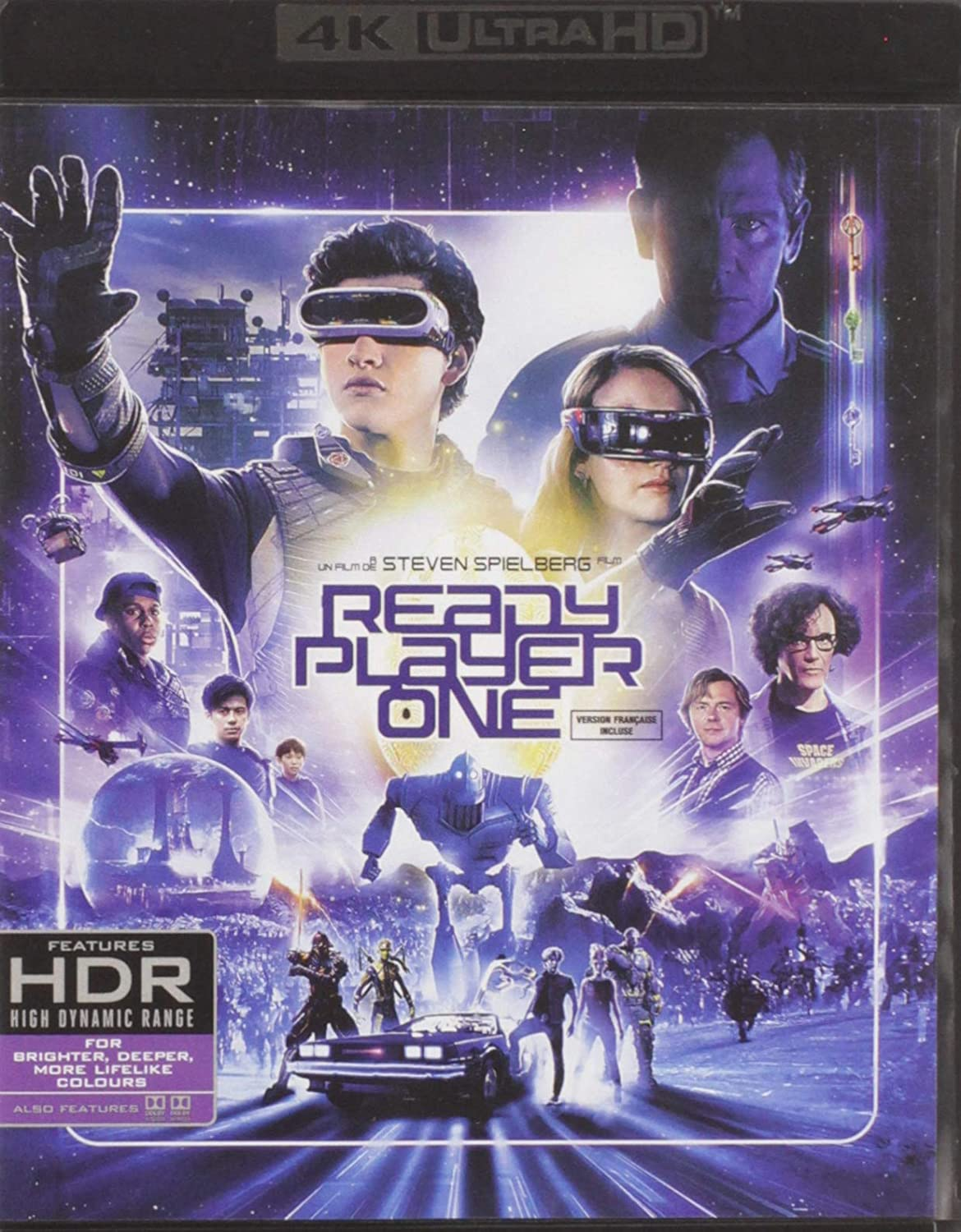Ready Player One Ultrahd Blu Ray Digital Movies Tv