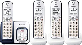 Panasonic KX-TGD564A2 Link2Cell Bluetooth Cordless Phone (4 Handsets)