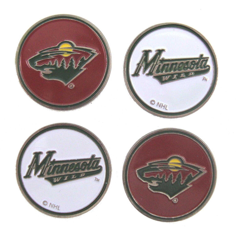 Minnesota Wild Golf Ball Markers ( 4 Pack )   B077YQH38F