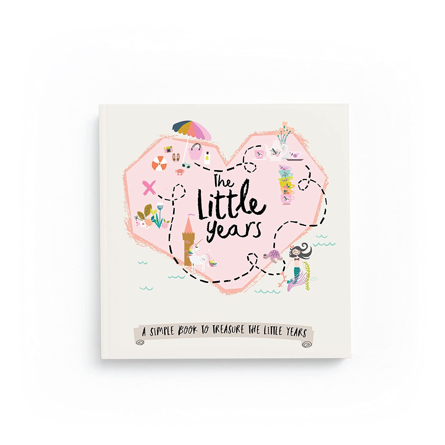 The Little Years Toddler Book-Girl Lucy Darling