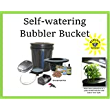 Self-watering 5-gal DWC Hydroponic Bucket System H2OtoGro