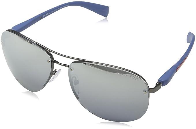 d190f6537e0 Image Unavailable. Image not available for. Colour  Prada Linea Rossa Men s PS  56MS Sunglasses 62mm