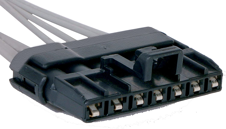 ACDelco PT314 GM Original Equipment 7-Way Female Black Multi-Purpose Pigtail