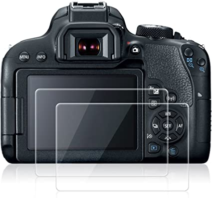 AFUNTA Protectores de Pantalla para Canon EOS 800D, 2 Pack Anti ...