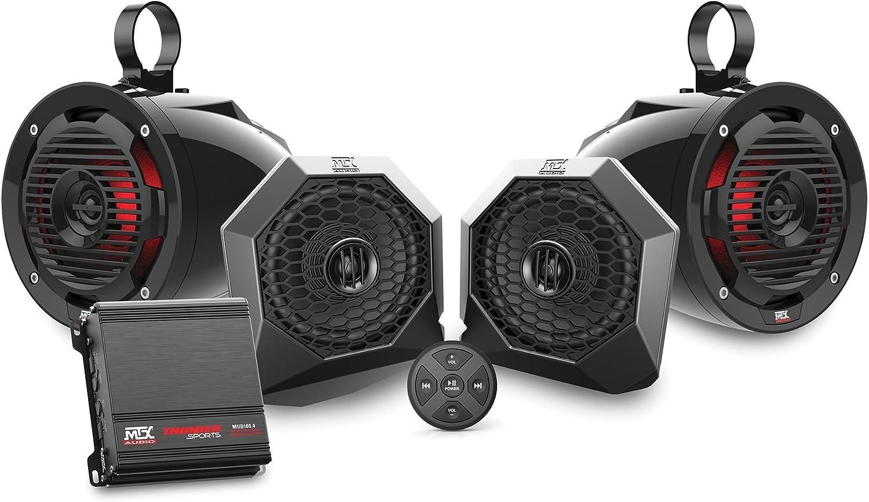MTX Polaris RZR Dash Mount All-Weather Speaker Pods RZRPOD65