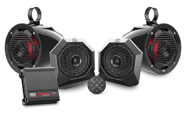 激安単価で MTX Polaris RZRBTSPKRS Bluetooth対応4スピーカーオーディオシステム   B07KDHBLBN, ナガヨチョウ 41142e87