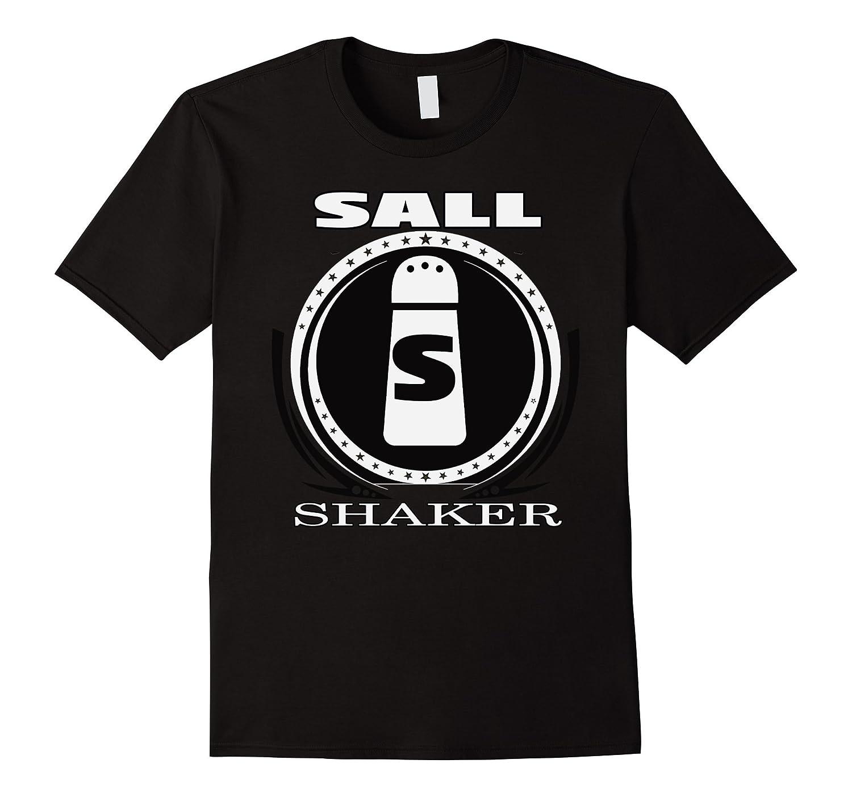 Salt – Matching Human Salt & Pepper Shaker TEE Shirt-Protee
