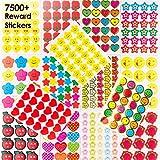 Teacher Reward Stickers, BeYumi Motivational Stickers for Kids & Teachers, 200 Sheets Kids Stickers(7500+ Count), For Party Favors, Gift, Prize Teachers, Tutors, Class Rewards