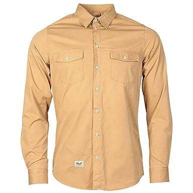 buy popular edd45 75b1e Reall Denim Herren Reall Hunter Hemd (cremefarben): Amazon ...