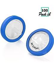 Syringe Filters Nylon 25mm Diameter 0.45um Pore Size non Sterile Pack of 100 by Biomed Scientific