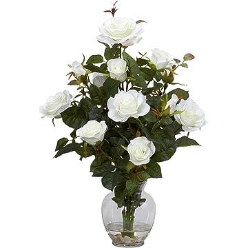 cheap Nearly Natural Rose Bush 2020