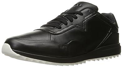 DIESEL - Baskets basses - Homme - Sneakers Cuir Swifter Noir pour homme - 44 f9e7fc7d2e63