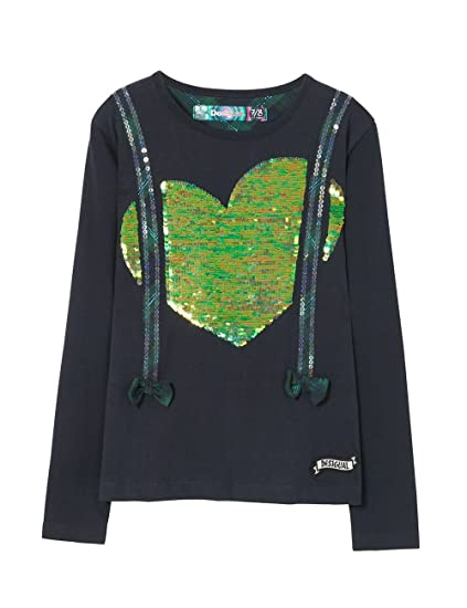 Desigual TS/_tallahesse Camisa Manga Larga para Ni/ñas