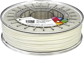 750g Filamento para Impresi/ón 3D de Smart Materials 3D Smartfil PETG 2.85mm Ivory White