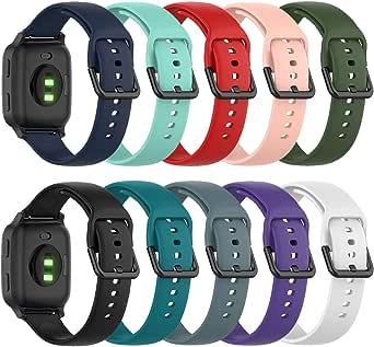 Chofit Armband compatibel met Garmin Venu Sq Music/Venu Sq Straps, 20 mm snelspanner-reserveband, zachte siliconen, sportarmband voor Venu Sq Music/Venu Sq/Venu Smartwatch