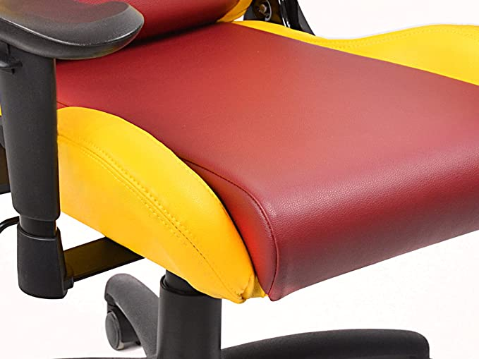 FK-Automotive FK Gamingstuhl eGame Seats eSports Spielsitz Liverpool schwarz//rot