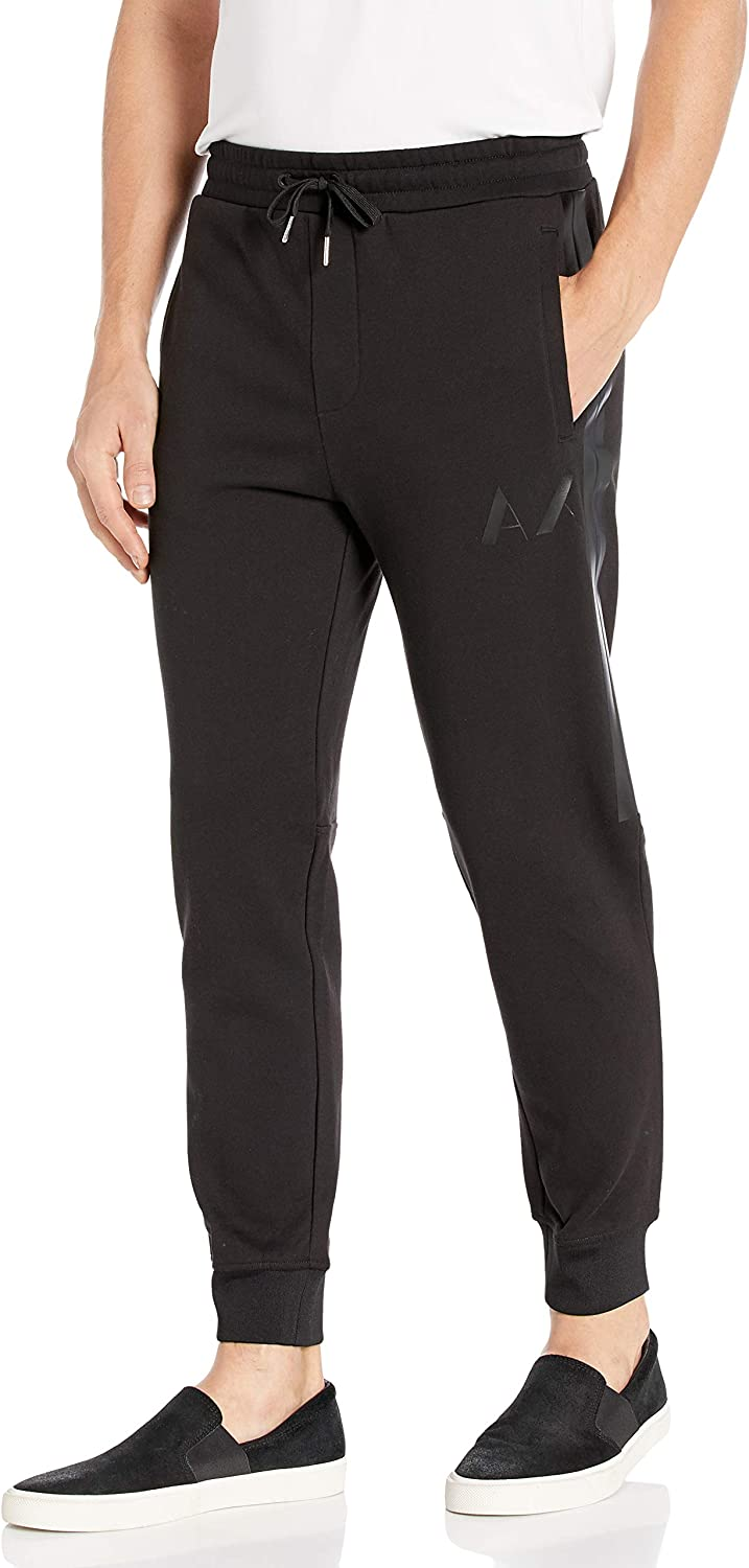 AX Armani Exchange Men's Comfortable Trousers with Small Logo