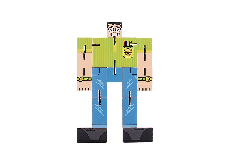 Buy 3in1 Super Brain Cubebot Puzzle Wooden Puzzle Cubetransformer