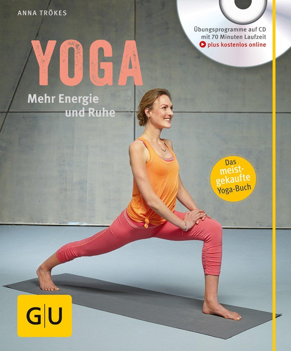 Yoga. Mehr Energie und Ruhe (mit CD): Amazon.es: Anna Trökes ...