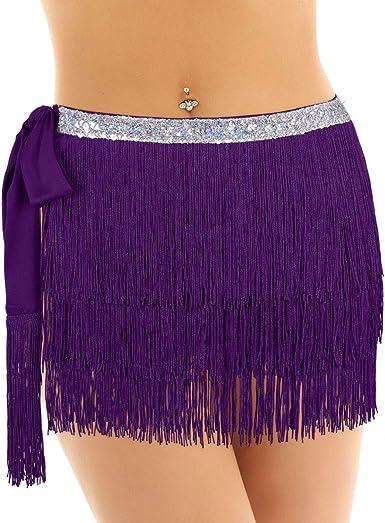 Freebily Mujer Falda de Abrigo para Danza Clásica Latina con ...