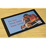 Displays2go Counter Mats, Non-Skid Rubber Bottom, Countertop Sign Holders for 11 x 17 Inches Images, Slide-in Design - Set of 20 (CMTBK1117)