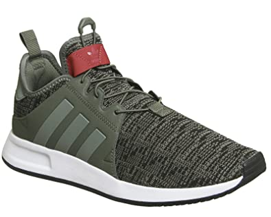 Adidas X_PLR Basket Mode Homme , Multicolore VertRouge