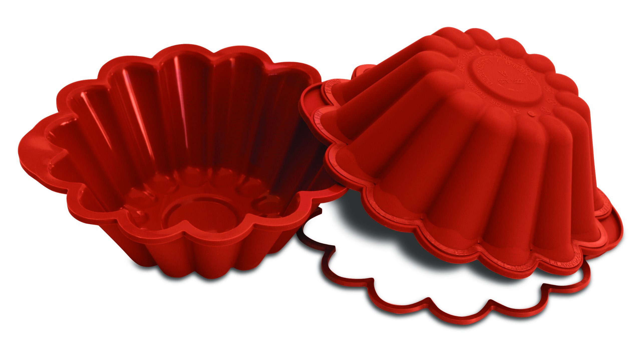 Silikomart SFT522/C Silicone Classic Collection Brioche Pan, 9-Inch by Silikomart (Image #1)