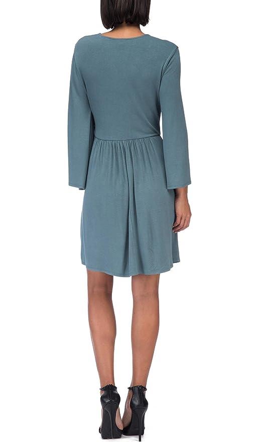 7f97b7a0a0 Bobeau Forrest Wrap Dress at Amazon Women's Clothing store: