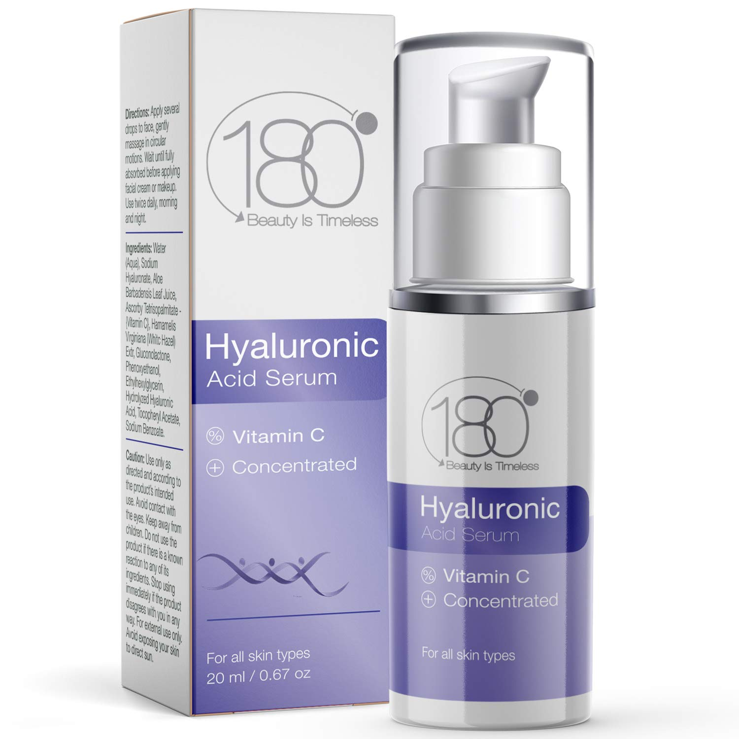 DAYS OF DEALS - 180 Cosmetics Hyaluronic Acid Serum & Vi…