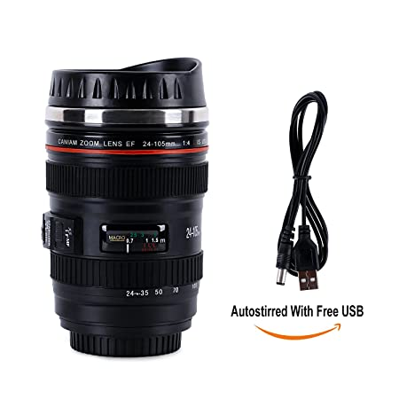 Review HOMESPON Camera Lens Coffee
