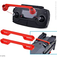 Propeller and Remote Control Locking Kit for DJI Mavic Pro/Platinum - RC Protector Locks The Position of Both Joysticks - Prop Locks Keep Blades in Fixed Position - Ideal Transport Protection - Red