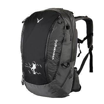 Amazon.com: Veevanpro Internal Frame Hiking Backpack 40L: Sports ...